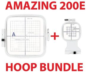 Janome hoop package for the mc 200e design memory craft for Janome memory craft 200e
