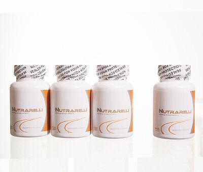 Nutrarelli 4 Bottles (120 Cap) 2014 Month Weigth Loss Sli...