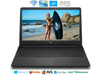 "Can Deliver - Dell 15.6"" Gaming Laptop Core i5 5th Gen Intel HD 5500 8G Windows10 256Gb SSD"