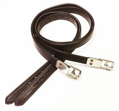 Calf Wrapped/Nylon Core/No Stretch Stirrup Leathers Nylon Stirrup Leathers