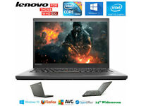 Can Deliver - FULL HD Lenovo Laptop Fast Core i5 2.9GHz Windows10 1920x1080 Screen Gaming SSD