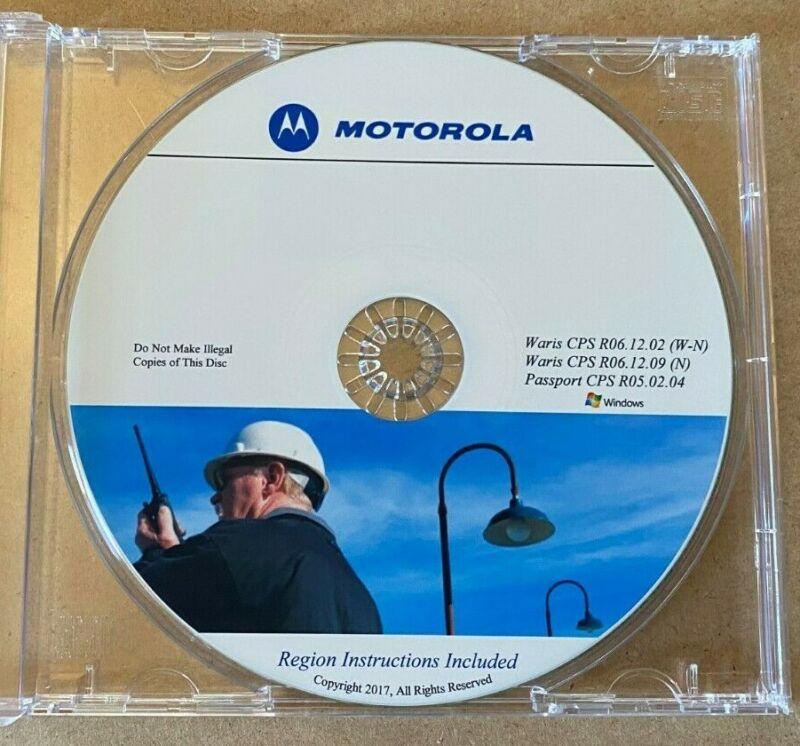HT750 HT1250 CDM750 CDM1250 CDM1550 EX500 Programming Disk