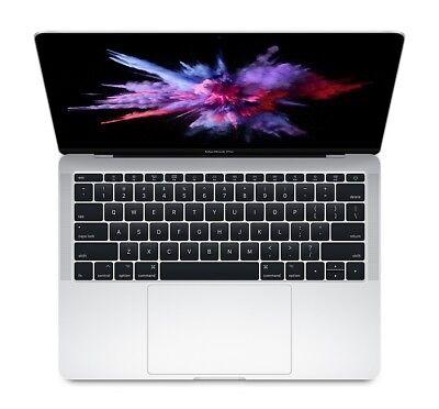 """NEW 2017 Apple MacBook Pro 13"""" Silver i5 8GB 256GB SSD MPXU2LL/A AppleCare+"""