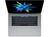 MacBook Pro 2017 15inch with Touch Bar, i7 2.8GHz, 16GB RAM, Upgraded 512GB SSD, Radeon Pro 555