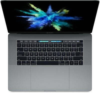 "Apple MacBook Pro MPTR2LL/A 15.4"" 256GB i7 Touch Bar TouchBar Space Gray 2017"