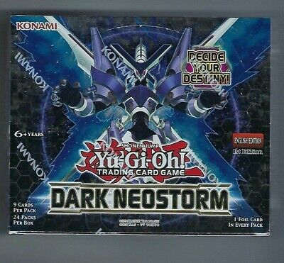 Edition Booster Box (Yugioh Dark Neostorm Booster Box 1st Edition Factory Sealed TCG English )