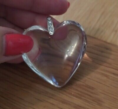 Unwanted gift Large Heart Lagenlook aurore Crystal Elements Pendant New