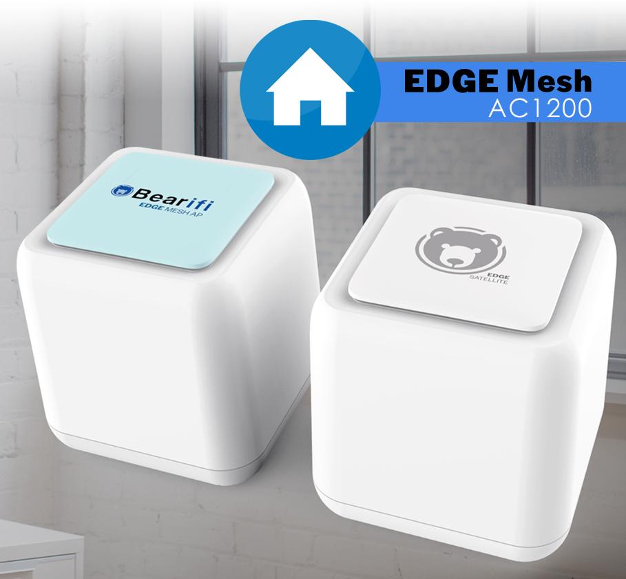 Bearifi HIGH POWER Whole Home 802.11ac Mesh WiFi System 2 pa