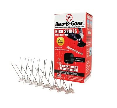Bird-B-Gone MM2001-5/6 Stainless Steel Bird Spikes, 1-1/2""