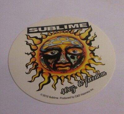 SUBLIME STICKER NEW 2012 VINTAGE OOP RARE COLLECTIBLE