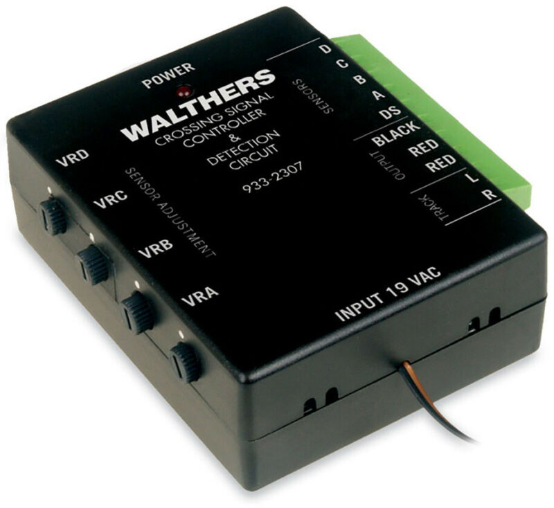 Walthers SceneMaster HO Scale Grade Crossing Signal Electronic Controller