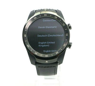 Mobvoi Ticwatch Pro WF12106 Bluetooth Smartwatch Layered Android Wear Schwarz