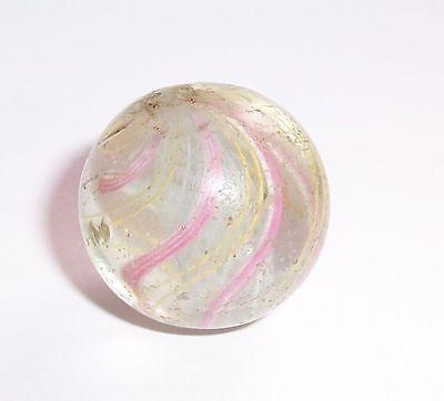 Uralte Swirl Glasmurmel marble Ø 2,3 cm Abriss Lauscha ?