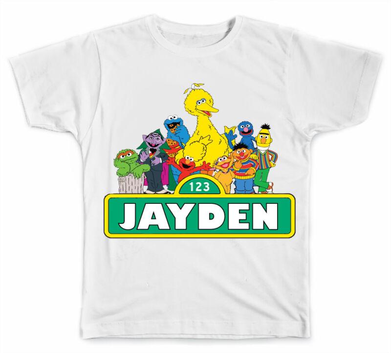 Personalized Sesame Street T-Shirt