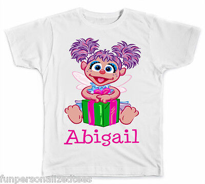Personalized Abby Cadabby from Sesame Street T-Shirt - Abby From Sesame Street