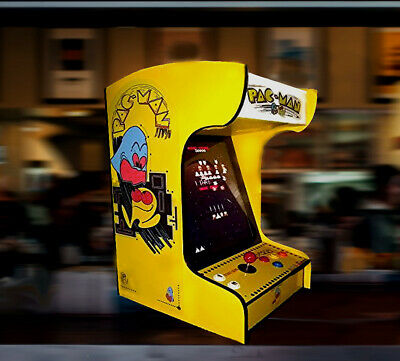 ON SALE!! Brand New Pacman Tabletop/ Bartop Arcade with 60 Classic Games