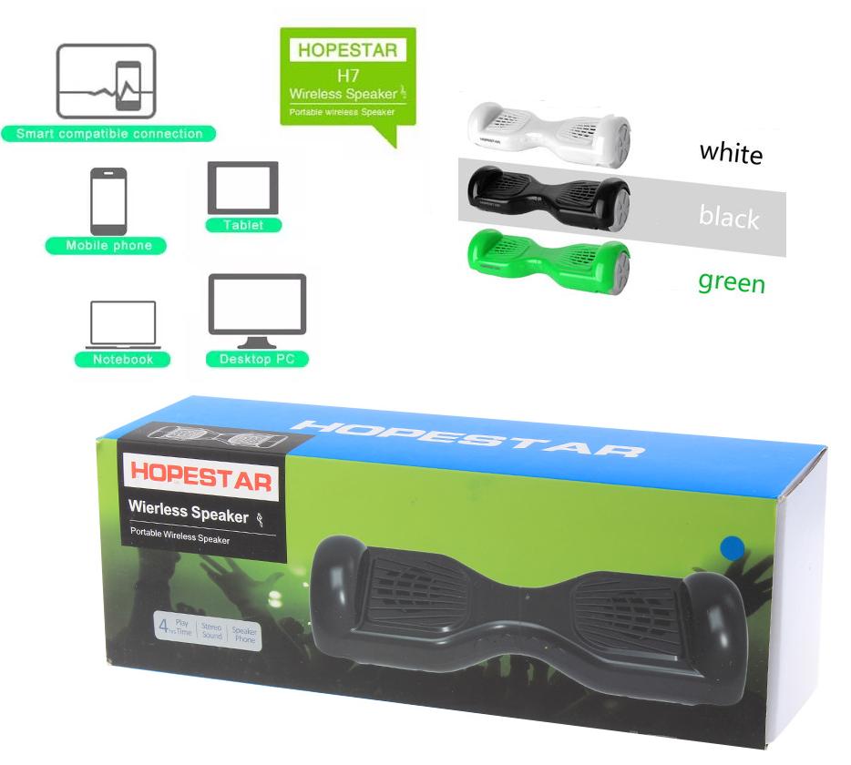 HOPESTAR H7 Hover Board Design Wireless Bluetooth V3.0+EDR S
