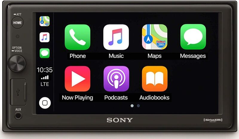 "Sony XAVAX1000 6.2"" 2 Din Media Receiver with BLUETOOTH"