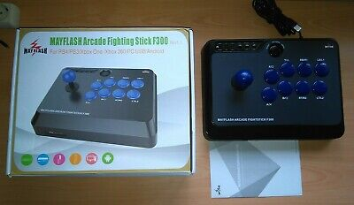 Arcade Stick Mayflash F300 para Ps4/Ps3/Xbox One/Xbox360/Pc USB/Android
