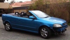 2004 Holden Astra convertible 2.2auto PARTS ONLY