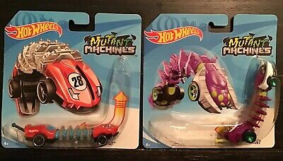 2-NEW 2020 HOT WHEELS MUTANT MACHINES SPIDER MUTANT & TOP  SPEED GT.FREE SHIPP