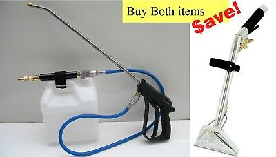 Carpet Cleaning High Pressure Stair Tool And Inline Sprayer