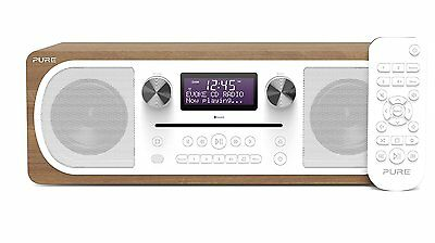 Pure Evoke C-D6 DAB FM Digital Radio CD Player Stereo With Bluetooth