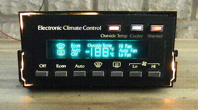 Cadillac DeVille Climate Heater A/C Control 85-93 16139256 Fleetwood F0320256