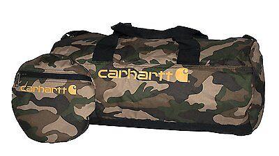 Carhartt Camo Packable Duffel Bag