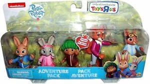 Peter Rabbit & Friends Figures Adventure Set -  Nickelodeon Pack of 5