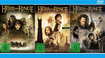 Herr der Ringe 1+2+3 - Gefährten, Zwei Türme, Rückkehr des Königs [DVD]  ()