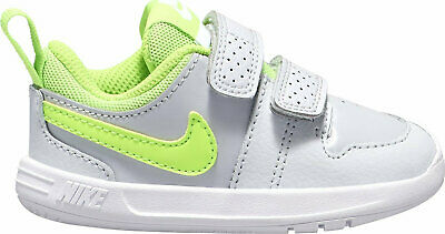 NIKE Pico 5 Infant/Toddler Trainers Grey/Green Boys AR4162 002