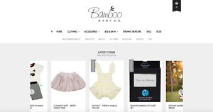 Online Baby Clothing Business For Sale