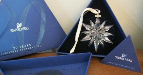 Swarovski Crystal 2011 Christmas Snowflake Ornament
