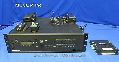 Crestron Dmps-300-c Hdmi Digital Media Presentation Control W Extras