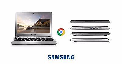 SAMSUNG Chromebook 11.6 Laptop 1.7GHz 2GB 16GB SSD SILVER WEBCAM XE303C12 (B)