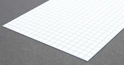Square Tile 1/3 by Evergreen Scale Models (Evergreen Square Tile)