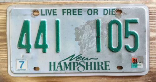 USA Nummernschild/Kennzeichen/license plate/US car/Harley * New Hampshire *