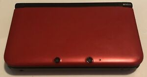 Modded Red Nintendo 3DS XL