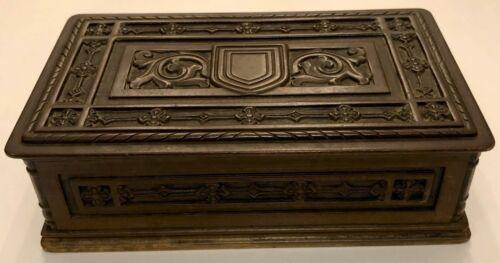 Antique (19C) Rare Tiffany & Co brass box