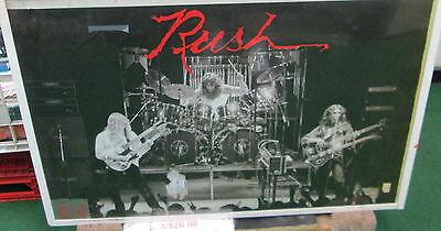 RUSH POSTER BUTTON LOT ALT METAL RARE OOP 2009 CANADIAN ROCK LEGENDS