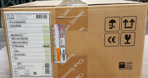 *new Sealed* Cisco Ws-c3560cx-8pc-s 8 Port Poe+ Ip Base Switch Same Day Shipping