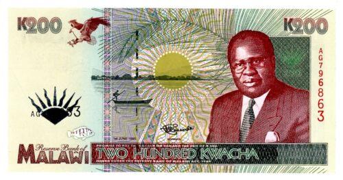 Malawi ... P-35 ... 200 Kwacha ... 1995 ... Gem*UNC*.