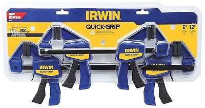Irwin 1964748 Quick-Grip Mini Quick-Release Bar Clamps, Blue, used for sale  Blue Springs