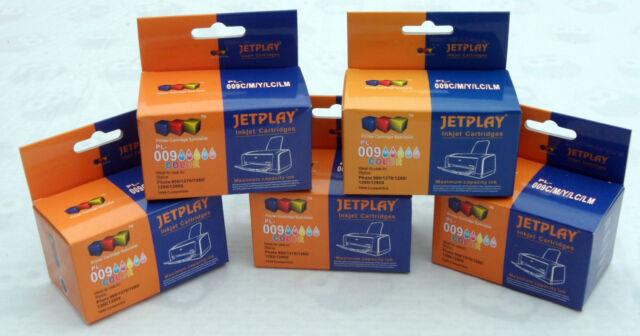 5 COLOUR inks compatible with T009 cartridges [not original EPSON]
