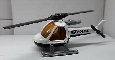 Matchbox /Lesney Police Helicopter Moving Parts ENGLAND /1982 LOOSE