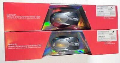 Microsoft Wireless Entertainment Desktop 7000 Silver Desktop Receivers