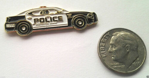 """POLICE CAR (1"""") Law Enforcement Hat Pin P61628 EE"""