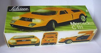 Repro Box Schuco Mercedes C 111 5508 Spielzeug