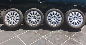 Genuine Mercedes 16 inch wheel and tires Waterford Logan Area Preview